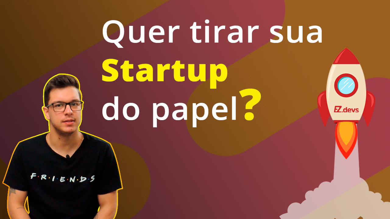 Thumb do vídeo de como tirar sua startup do papel - Gabriel Malinosqui